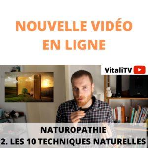 Les 10 techniques en Naturopathie et leur présentation