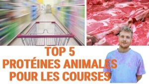 top 5 protéines animales
